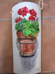 Resultado de imagen para tejas pintadas