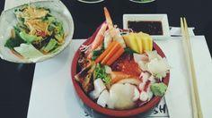 Chirashi at Sapporo Sushi