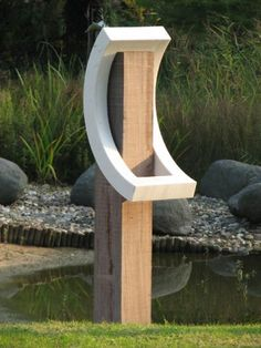 Jan kees lantermans, scultures from 2004 - 2008 elegance and balance behind this sculpture