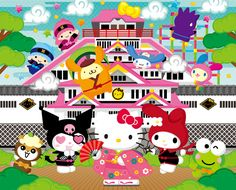 Harmonyland...Another Sanrio's theme park in Japan ^^