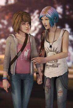Life is Strange - Max and Chloe by Mary-O-o on DeviantArt
