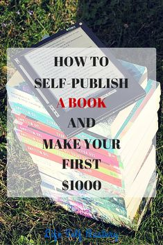 How to self-publish a book on Amazon and make your first $1000. Learn how to publish your kindle book and how to market it on Amazon. writersrelief.com