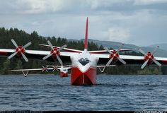 The last two swimming Martin Mars water bombers on the Lake Alberni. - Photo taken at Port Alberni - Sproat Lake Tanker Base Seaplane / Heliport / in British Columbia, Canada on June Event Logistics, Amphibious Aircraft, Bomber Plane, Float Plane, Flying Boat, Civil Aviation, Aircraft Pictures, Military Aircraft, Fire Trucks