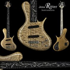 R8 Singlecut with Quilted Maple top and Fairy Leaf Junior Inlay. Now Available at WillCutt Guitars (KY - USA)