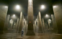 Hundreds of kilometers of Tokyo tunnels whose purpose is unknown.