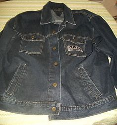 Oasis Heathen Chemistry' Promotional Big Brother Denim Jacket 2002 XL NEW UNWORN