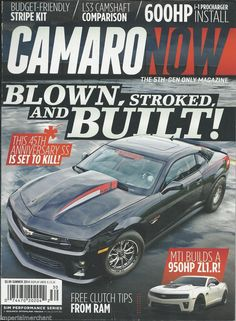 Camaro Now magazine
