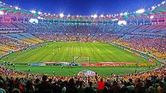 A torcida do Fluminense e o Maracanã.