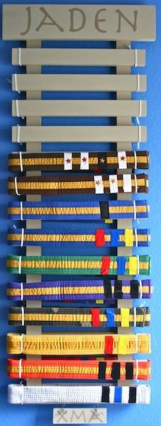 karate belt display - Yahoo Image Search Results