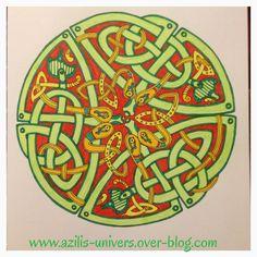 Coloriage Anti Stress Celtique.Les 27 Meilleures Images De Mes Coloriages Anti Stress En