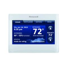 Honeywell THX9421R5021WW  Redlink Prestige IAQ Color Touchscreen Thermostat >>> Details can be found by clicking on the image.