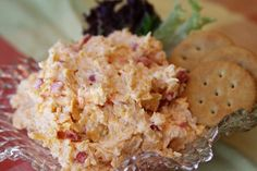 When I think about sandwiches and the South, I automatically think about pimento cheesePimento Cheese. When I think about sandwiches and the South, I automatically think about pimento cheese Yummy Appetizers, Appetizer Recipes, Homemade Pimento Cheese, Pimiento Cheese, Vegetarian Recipes, Cooking Recipes, Drink Recipes, Fall Recipes, Holiday Recipes