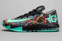 All Kevin Durant Shoes | side view of Kevin Durant's 2014 All-Star Game sneakers. (Nike)