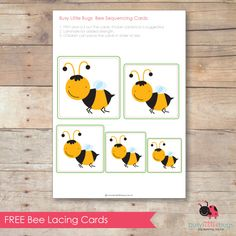 free BEE sequencing cards