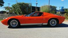 Lamborghini Miura came into the dealership yesterday [1920X1080] via Classy Bro