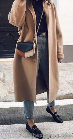 25 Ideas For Women Outfits This Winter - fashion inspiration - Winter Outfits Women, Casual Winter Outfits, Trendy Outfits, Fall Outfits, Work Outfits, Winter Outfits 2019, Fashionable Outfits, Coats For Women, Clothes For Women