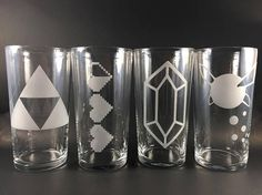Legend of Zelda Pint Set