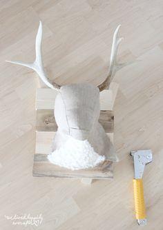 DIY Deer Head -