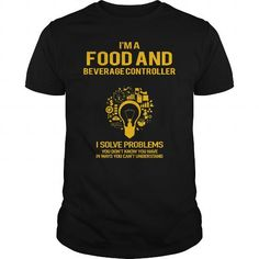 Cool  Food And Beverage Controller T-Shirts #tee #tshirt #Job #ZodiacTshirt #Profession #Career #controller