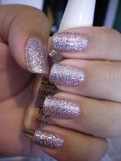 sparkle nail polish. I need to find some of this!