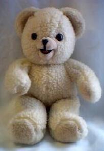 Vintage 1986 Snuggle Bear 10' Russ Bear *Free Shipping