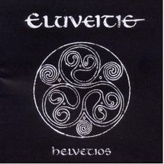 Helvetios - Eluveitie CD. I don't LOVE Eluveitie, but this is a good design for the tattoo I want. Add some mottled gold, red, green, and blue.