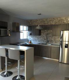 Kitchen Ideas, Kitchen Designs, Casas Javer, Storage Ideas, Exterior,  Building Homes, Modern Interior Decorating, Interior Modern, Minimal Kitchen
