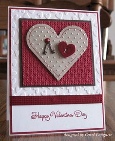 Layers & textures. Could use various buttons/embellishments in place of the heart & key.