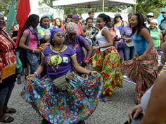 Danças e manifestações culturais também fizeram parte da mobilização