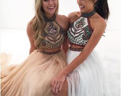 Prom Dresses 2017, Unique Prom Dresses, Backless Prom Dresses, Beautiful Prom Dresses, Modest Dresses, Pretty Dresses, Formal Dresses, 2 Piece Prom Dress, Dress Prom