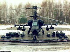 KAMOV KA-50 BLACK SHARK GUNSHIP attack helicopter military russian russia soviet…