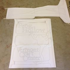 I'm In The Beginning Stages Of Making The New Sign For Vermont's Own Frog Hollow Craft Center On Church Street In Burlington