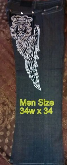 "Men ""Clench"" Jeans Size 34 X 34  #Clench #BaggyLoose"