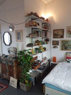 Room Design Bedroom, Room Ideas Bedroom, Bedroom Decor, Indie Room, Pretty Room, Aesthetic Room Decor, Cozy Room, Dream Rooms, My New Room