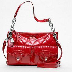 8d72c9a14d LOVE my new red Coach bag - fun!!! Coach Bags Outlet
