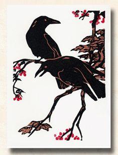 Paul Kidder Handmade Graphics Fauna