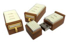 Card Catalog USB Drive