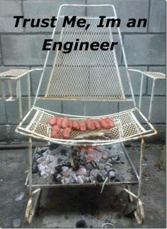 BBQ Chair..  *Not my image, received via email, for entertainment only
