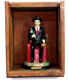 Saint Statue and Altar Box Maximon Hoodoo Magic by AeryckdeSade, $100.00