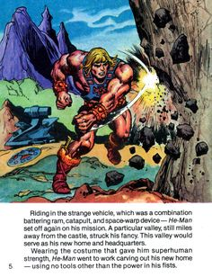 The Surprisingly Awesome Comics History of 'Masters Of The Universe'
