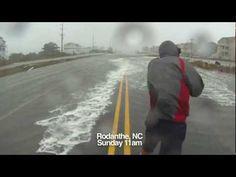 Hurricane Sandy Hatteras Island - 10.28.12 - 11am - Mirlo Beach Rodanthe Erosion with GoPro clips - http://www.nopasc.org/hurricane-sandy-hatteras-island-10-28-12-11am-mirlo-beach-rodanthe-erosion-with-gopro-clips/