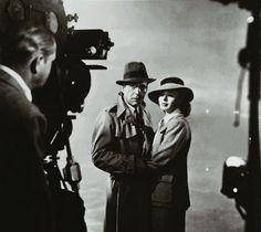Ingrid Bergman plays the ex-lover of Humphrey Bogart in the 1940's unforgettable classic - Casablanca