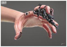 NOVA BIONICS - Hand, Georg Löschner on ArtStation at http://www.artstation.com/artwork/nova-bionics-hand