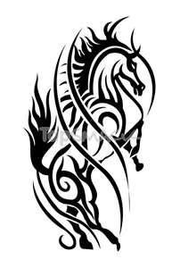 1000 images about tattoos on pinterest horse tattoos tribal horse tattoo and horses. Black Bedroom Furniture Sets. Home Design Ideas