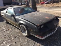 barn find 1984 Chevrolet Camaro z28 project