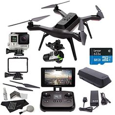 3DR Solo Drone Quadcopter + 3D Robotics Solo Gimbal + GoPro HERO4 Black Camera + 3DR Solo Propeller Set + Lexar High Performance microSDHC 633x 32GB + Polaroid Camera Cleaning Kit & Accessory Bundle - http://www.midronepro.com/producto/3dr-solo-drone-quadcopter-3d-robotics-solo-gimbal-gopro-hero4-black-camera-3dr-solo-propeller-set-lexar-high-performance-microsdhc-633x-32gb-polaroid-camera-cleaning-kit-accessory-bundle/