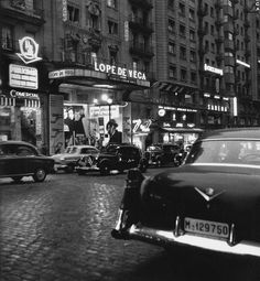 Spain. Madrid, 1950s  // Photo: Francesc Catala Roca