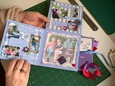 Simply Scrapbooking Now - How to make a 6x6 Mini Album from 1 sheet of 12x12 card