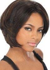 Professional Yaki Straight #1B/30 10Inch Remy Human Hair Glueless Full Lace Wig