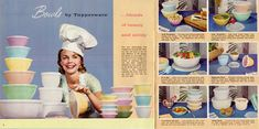 1960s Tupperware ad